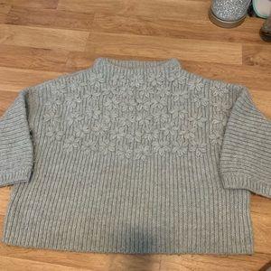 Sundance embellished thick sweater